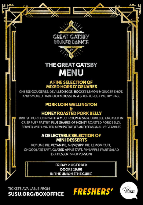 Great Gatsby Dinner Dance: What's it all about? » Students ...