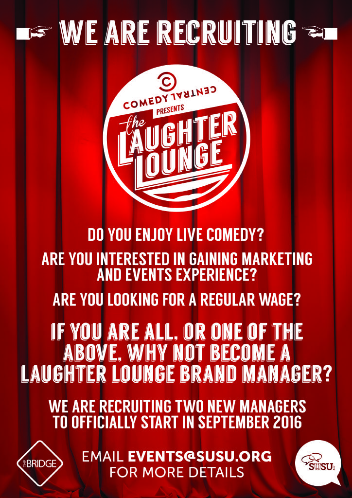 laughter lounge recruitment
