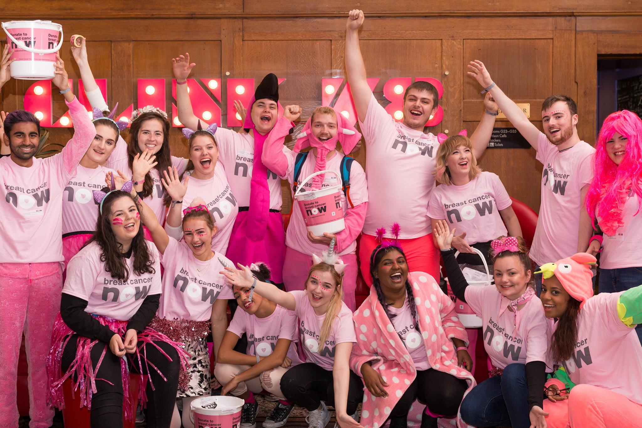 Southampton RAG at Breast Cancer Now's Megaraid