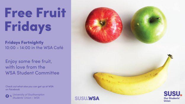 wsa free fruit fridays students union blog