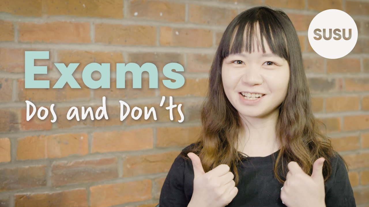 Exam Dos and Don'ts video
