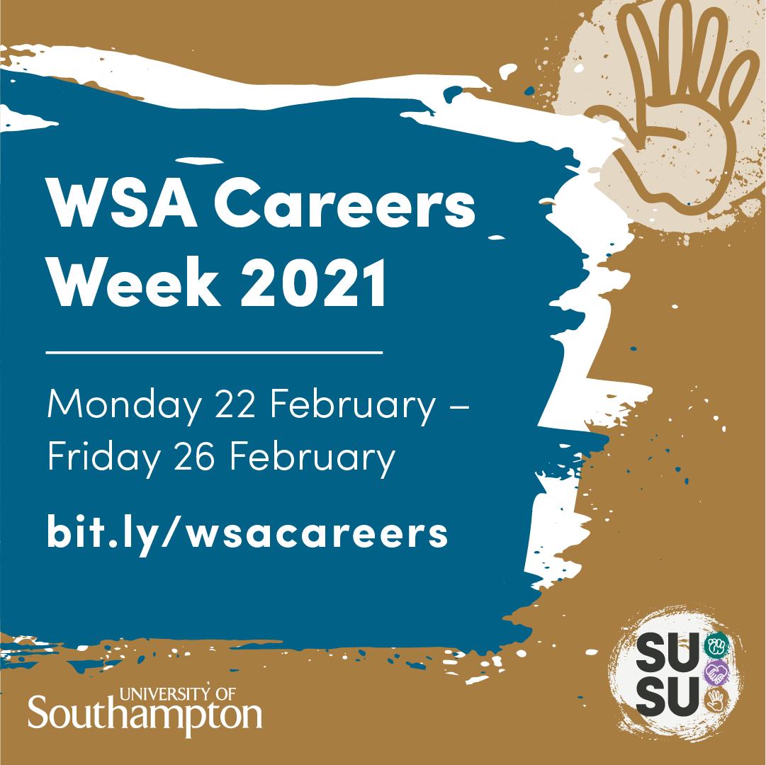 WSA Careers Week 2021